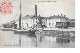 CPA   (85)   LUCON     Le Port - Lucon