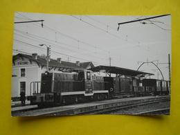 Photo Geiger, Train Special En Gare De Facture - Trains
