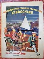 Hist. Des Colonies Françaises L'Indochine. Chocolat Cémoi. Album Complet. - Album & Cataloghi
