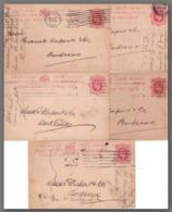 GRANDE BRETAGNE - Post Card - Carte Postale - Entiers Postaux -  Période De 1911 - Lot De 5 Cartes - 1902-1951 (Rois)