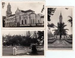 3 Photos Originales Viêt Nam - L'Église Jeanne D'Arc à Saïgon, Hô-Chi-Minh-Ville En 1952 - Lieux