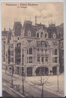 MONTREUX (Vaud Suisse) - Hôtel Moderne Defago Carte Publicitaire Cachet Hôtel De L'Europe Couttet Chamonix 1912 - VD Vaud