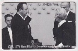 TK 23654 GERMANY - Chip O589 03.93 16000ex.Deutschland 50 Jahre MINT! - Allemagne