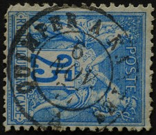-Sage N°78  Type Ll.(AMBULANT) O QIMPER A NANTES.6 NOV 1877. - 1876-1898 Sage (Type II)