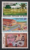 Bénin - 1976 - N°Yv. 377 à 379 - Transfusion Sanguine - Neuf Luxe ** / MNH / Postfrisch - Benin - Dahomey (1960-...)