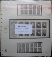 SAFE/I.D. - Jeu FRANCE CARNETS 2007 - Fogli Prestampati