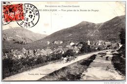 25 BEURE BESANCON - Vue Prise De La Route De Pugey - Besancon