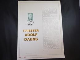 "BELG.1989 2348 FDC Filatelic Gold Card NL. : "" PRIESTER DAENS "" - FDC"