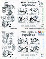ESPAÑA   Prueba Nº 4 / 5  ( Sobrecargadas  2015 ) - 684A - 1931-Hoy: 2ª República - ... Juan Carlos I