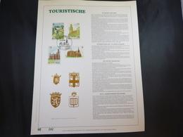"BELG.1989 2328/2331 FDC Filatelic Gold Card NL. : "" TOERISTISCHE "" - FDC"