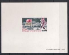 Congo - 1973 - Poste Aérienne PA N°Yv. 157 - Apollo XVII - Epreuve De Luxe - Congo - Brazzaville