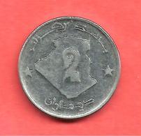 2 Dinars , ALGERIE , Acier , 1992 , N° KM # 130 - Algérie