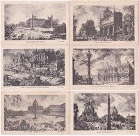 ROMA. G.B. Piranesi. 6 Cartoline - Roma (Rome)
