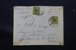MADAGASCAR - Enveloppe Du Gouvernement Général De Tananarive Pour Paris En 1914 ,affr. Type Groupe De  Mayotte - L 57348 - Madagascar (1889-1960)
