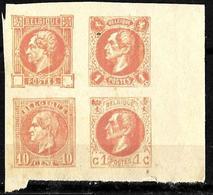 527 -  BELGIUM - BELGIQUE - 1180-90 - TRIALS, PROOFS - TO CHECK - Stamps
