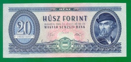 Hungary 20 Forint 1969 P169e AUNC+ - Hongrie
