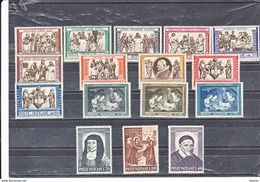 VATICAN 1960 Yvert 302-315 + EXPRESS 15-16 NEUF** MNH - Vatican