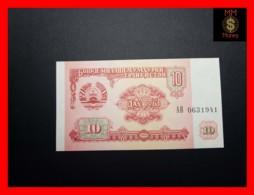 TAJIKISTAN 10 Rubles  1994  P. 3  UNC - Tadzjikistan