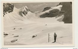 AK  Bergsteigen Ski Wanderer Im Watzmannkar Bei Berchtesgaden 195x - Alpinisme