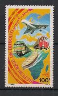 Djibouti - 1981 - Poste Aérienne PA N°Yv. 149 - Transports / Concorde - Neuf Luxe ** / MNH / Postfrisch - Djibouti (1977-...)