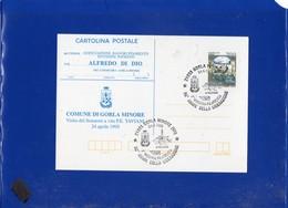 """##(DAN204)-1995 Cartolina Postale L.700 Castelli Stampa Privata-repiquage """"Comune Di Gorla Minore"""" Tematica Resistenza - 6. 1946-.. Repubblica"""