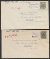 Armoiries - Lot De 4 Lettres Françaises Avec Armoiries + Préo (Bruxelles, Tournai) > Toulouse (H.G.) / Curiosité. - Precancels
