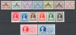 Vaticano 1929 Conciliazione Sass.1/13+Ex 1/2 **/MNH VF - Neufs