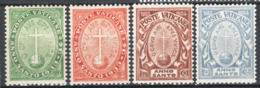 Vaticano 1933 Anno Santo Sass.15/18 **/MNH VF - Unused Stamps