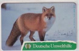 TK 23707 GERMANY - Chip O614A 12.93 3800ex.Deutsche Umwelthilfe - Fuchs MINT! - Allemagne