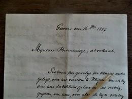 Brief  1897 Geschreven Te GAVERE - Gavere