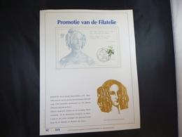 """BELG.1989 2320=BL65 FDC Filatelic Gold Card NL. : """" PROMOTIE VAN DE FILATELIE """" - FDC"""