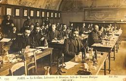 025 663- CPA - France (75) Paris - La Sorbonne - Laboratoire De Botanique - Enseignement, Ecoles Et Universités