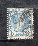 Y281 - MONACO 1885 , Unificato N. 3  Usato (M2200) - Monaco