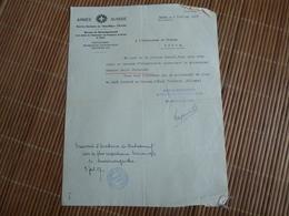 Lot De Documents D'un Soldat Prisonnier De Guerre, Interné En Allemagne Et En Suisse, Mort Le 23 Novembre 1918 à Aramon - Aramon