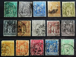 -SAGE Recto / Verso. O  ( Tous états ) - 1876-1898 Sage (Type II)