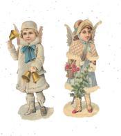 Lot De 2 Découpis : Enfant Ange, - Enfants