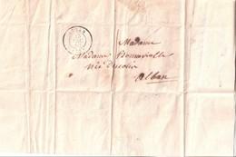 Pli Du 13 Décembre1853 D'Alban (Tarn) à Alban - 1849-1876: Période Classique