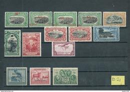 Belgisch-Congo 14x Stamps(unsorted) (D-21) - Congo Belge