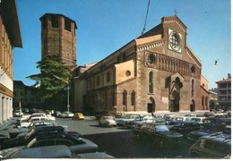 Udine - Il Duomo (parcheggio Auto Fiat Audi Mercedes Alfa - Anni '70) - Udine