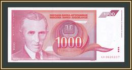 Yugoslavia 1000 Dinar 1992 P-114 UNC - Jugoslavia
