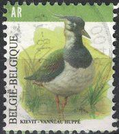 Belgique 2013 Oblitéré Used Bird Oiseau Vanneau Huppé Vanellus Vanellus SU - Belgien