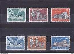 VATICAN 1961 SAINT PAUL Yvert 322-327 NEUF** MNH - Vatican