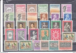 VATICAN 1962 Année Complète Yvert 344-373 NEUF** MNH - Vatican