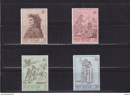 VATICAN 1965 DANTE Yvert 428-431 NEUF** MNH - Vatican