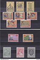 VATICAN 1972  Année Complète Yvert 533-551 + BF 3 NEUF** MNH - Vatican