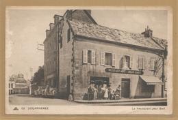 29 - Finistere - Douarnenez - Carte Peu Courante - Restaurant Jean Bart - Douarnenez