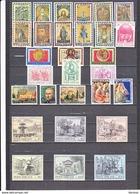VATICAN 1975 Année Complète Yvert 582-610 NEUF** MNH - Vatican