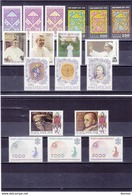 VATICAN 1978 Année Complète Yvert 651-665 + PA 63-65 NEUF** MNH - Vatican