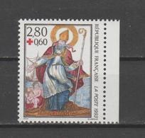 FRANCE / 1993 / Y&T N° 2853a ** : Croix-Rouge (Saint-Nicolas) De Carnet X 1 BdC D - Unused Stamps