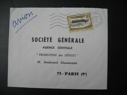 Lettre Thème  Costumes Traditionnelles  Ile Maurice  1971   Pour La Sté Générale En France Bd Haussmann Paris - Mauritius (1968-...)